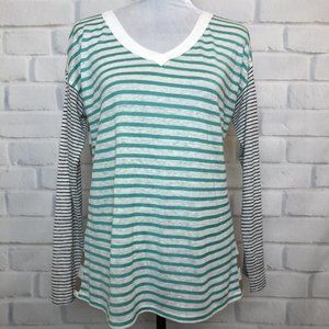 Sundance Striped Linen Top